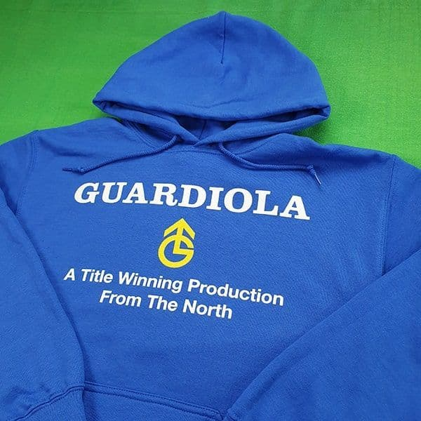 A Title Winning Production From the North Hoodie | Manchester City Gifts & Memorabilia